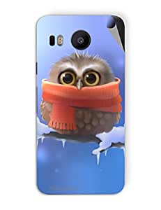 Miicreations Mobile Skin Sticker For LG nexus 5x,Baby Owl