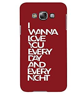printtech Every Night Back Case Cover for Samsung Galaxy Grand Max G720