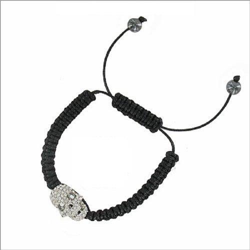 JOA Stone Skull Design W String Band Bracelet #040627