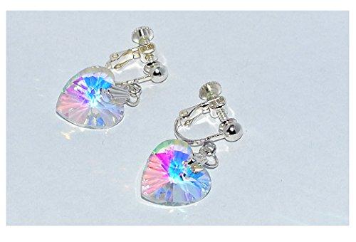 pretty-clip-on-earrings-girls-non-pierced-earrings-aura-angel-heart