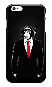 The Fappy Store Domesticated Monkey plastic Back Cover for iphone 6 plus