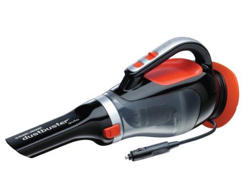BLACK+DECKER ADV1220-XJ Dustbuster Auto Aspiratore, 12 V, Ciclonico con Borsa e Accessori