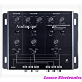 Audiopipe XV3V15BP 3 Way Active Crossover Equalizer with Bandpass Filter