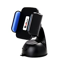 Bnest Qi Car Charger Wireless Charging Stand Car Mount Holder with 360 Degree Angle for Samsung S7 S7edge S6 S6edge Galaxy Note5 All Qi Enable Smart Phones