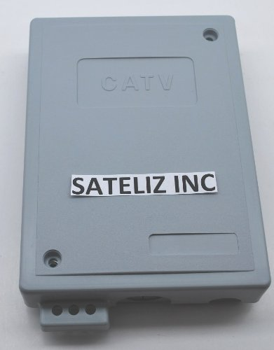 "7""X5""X1.5"" Outdoor Cabletek Enclosure Plastic Gray Case Utility Cable Box Mte-S"