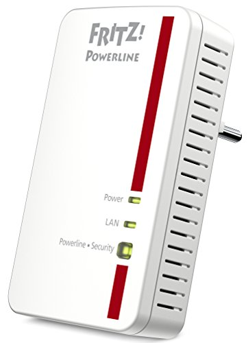 AVM FRITZ!Powerline 1000E (1.200 MBit/s, ideal für HD-Streaming oder NAS-Anbindungen)