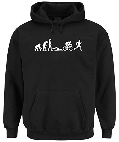 Triathlon Evolution Hooded Sweater Nero Certified Freak-M