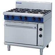Blue Seal 6 Burner with Electric Oven Range - GE506D - 900(w)812(d)915(h)mm - Pack Size: Single