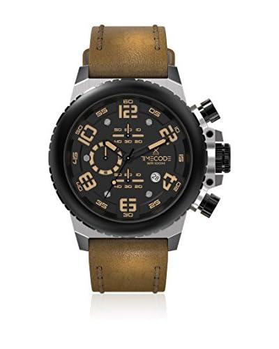 Timecode Orologio al Quarzo Everest 1953 Marrone 48 mm