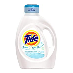 Tide Free And Gentle Liquid Laundry Detergent 64 Loads 100 Fl Oz