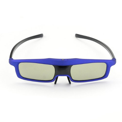 SainSonic Rainbow Series 2013 Newest Economical Blue Version UNIVERSAL 3D Rechargeable Infrared Active Shutter Glasses For Panasonic, Samsung, Sony, Sharp, LG, Toshiba, Philips 3D HDTVs, Cost Less, Enjoy More!