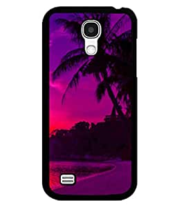 printtech Sunset Beach Palm Trees Back Case Cover for Samsung Galaxy S4::Samsung Galaxy S4 i9500