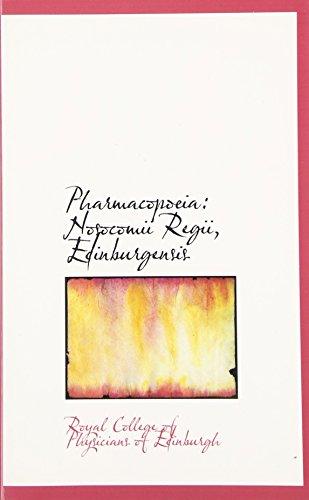 Pharmacopoeia: Nosocomii Regii, Edinburgensis