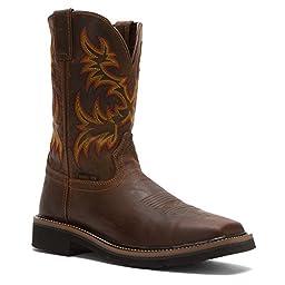 Justin Original Work Boots Men\'s Stampede Collection 11\