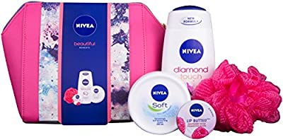 Nivea Beautiful Moments Gift Set for Women's - 4 Pieces