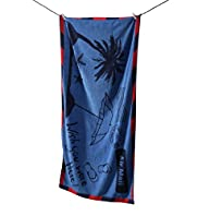 Postcard Print Beach Towel
