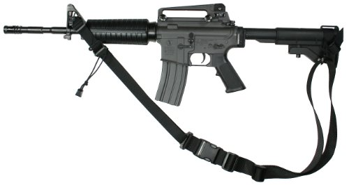 Specter Gear 2 Point Sling, Fits Collapsible Stock M-4A1 Carbines, Black front-501215
