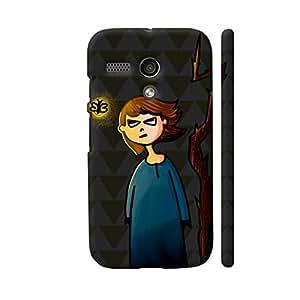 Colorpur Evil Me Designer Mobile Phone Case Back Cover For Motorola Moto G1 | Artist: Woodle Doodle