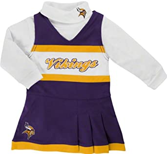 Reebok Minnesota Vikings Toddler (2T-4T) Cheer Uniform by Reebok