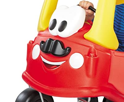 Little Tikes Mr. Cozy Coupe with Mustache, Red by MGA Entertainment
