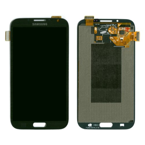 Samsung Galaxy Note Ii Note 2 Digitizer Lcd Touch Screen Replacement Assembly /Gray