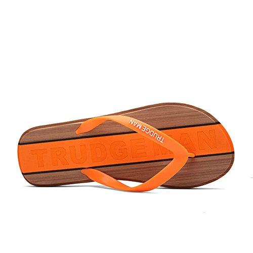 Tongs de mode été/Populaires anti-dérapant pantoufles/Chaussures Casual amoureux-E Longueur du pied=25.8CM(10.2Inch)
