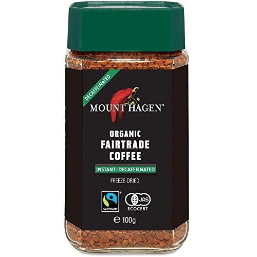 マウントハーゲン オーガニック フェアトレード カフェインレスインスタントコーヒー100g インスタント(瓶・詰替)