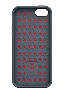 Belkin Grip Candy Max Cell Phone Case for iPhone 5/5s - Red/Slate (F8W161ttC22) from Belkin Components