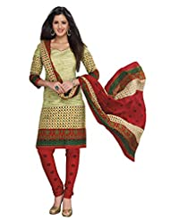 AASRI Women Cotton Unstitched Salwar Suit