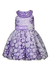 Soulfairy Girls' Dress (SS16-DRSFRL-026_Lilac_3-4 Years)