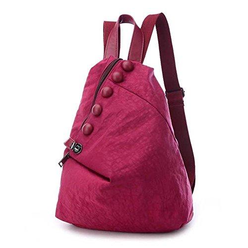 borsa a tracolla in nylon Ms./borsa a tracolla casual/versione coreana della borsa/Zaino Moda-D