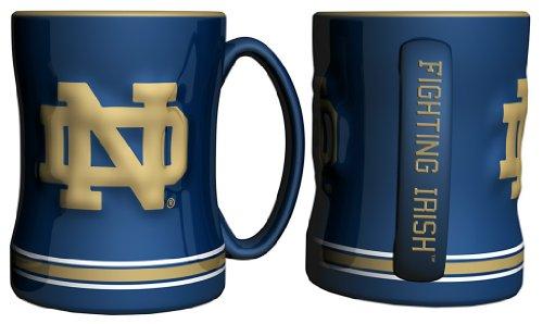 Notre Dame Fighting Irish Ncaa Coffee Mug - 15Oz Sculpted