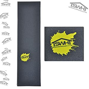 "Skatewarehouse Splat Perforated Skateboard Grip Tape 9"" x 33"""