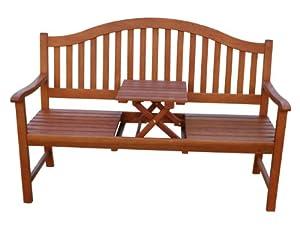 gartenbank holzbank eukalyptusbank mit. Black Bedroom Furniture Sets. Home Design Ideas