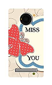 SWAG my CASE Printed Back Cover for Micromax Yu Yunique