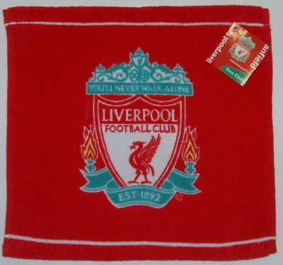 Liverpool FC Face Cloth/Flannel, Red