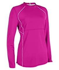 CLOSEOUT Russell Athletic Women's Crew Neck Long Sleeve Performance Tee