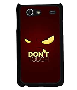 printtech Cool Quotes Back Case Cover for Samsung I9070 Galaxy S Advance :: Samsung Galaxy S II Lite