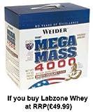 Joe Weider - Giant Mega Mass 4000 - Chocolat - 7000 g