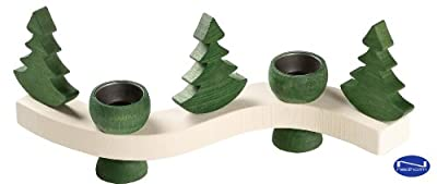 Curvy Candleholder With Tree by Nedholm Design
