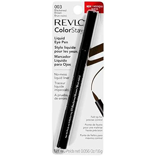 Revlon ColorStay Liquid Eye Pen, Blackend Brown 003 .05 oz (1.6 g) (Liquid Brown Felt Liner compare prices)