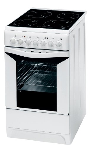 Indesit K 3 C 51 W Cuisinière Electrique Pose Libre 50 cm Classe: B Blanc