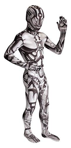 Morphsuits - Costume Carnevale Halloween Tuta ufficiale Robot, Bambino, Taille L