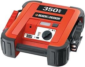 Black and Decker BDJS350 Arrancador de Batería, 350 A