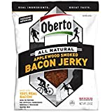 Oberto All Natural, Applewood Smoked, Bacon Jerky, 2.5 Ounce
