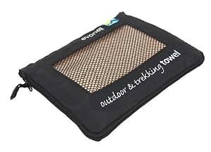 EVONELL 64x120cm Sports Towel Sporthandtuch Microfaser beige