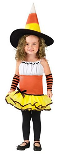 Halloween Candy Corn Witch Toddler's Costume
