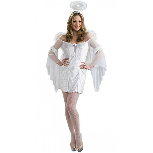 White Angel Costume