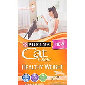 Case of purina healthy weight cat chow 6 for Purina game fish chow