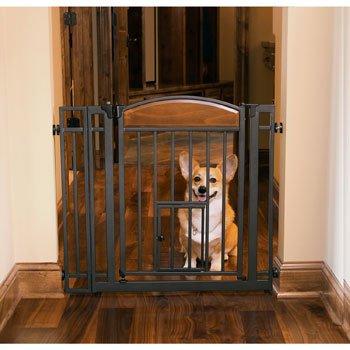 Design-Studio-Walk-thru-Gate-with-Small-Pet-Door
